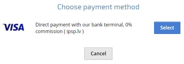 AntiCaptcha支払い画面