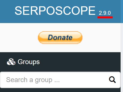 serposcopeの新バージョン2.9.0
