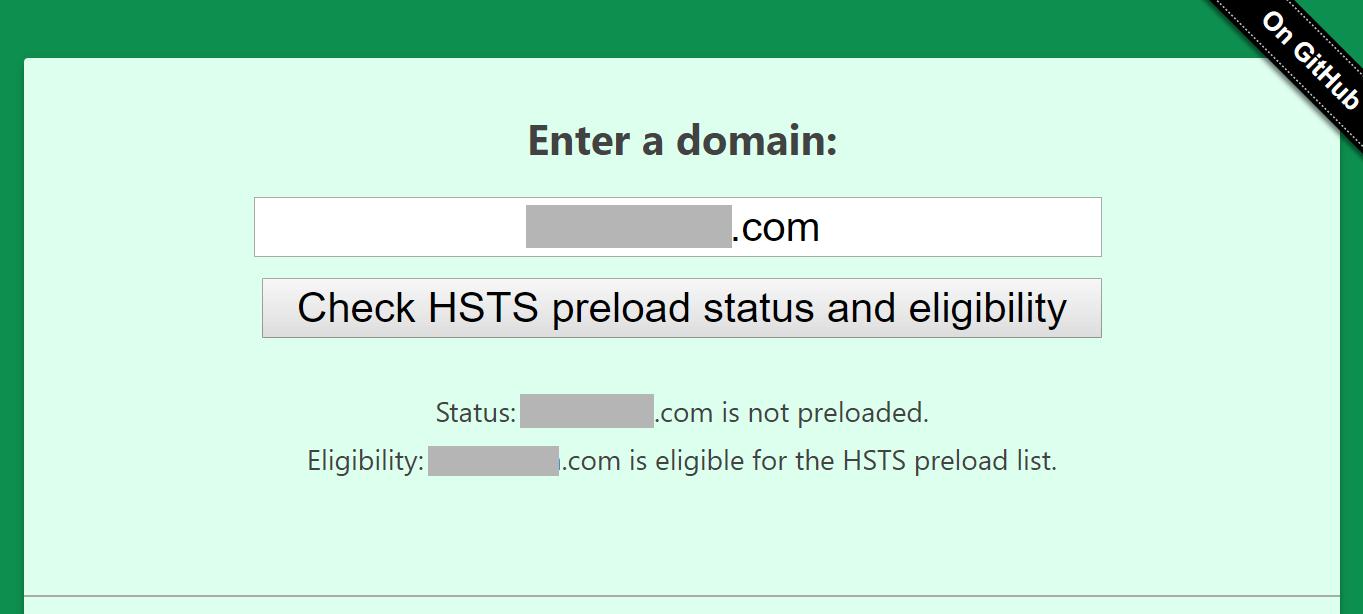 hsts preload プリロード設定
